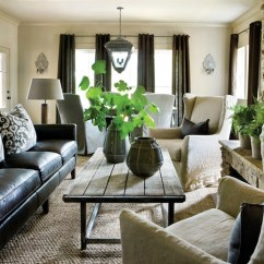 Pillow Ideas For White Leather Sofa Chesterfield Los Angeles Industrial Coffee Table Transitional Living Room Atlanta Homes