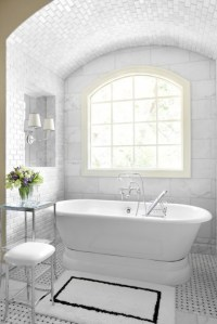 Alcove Bathtub - Transitional - bathroom - Mark Williams ...