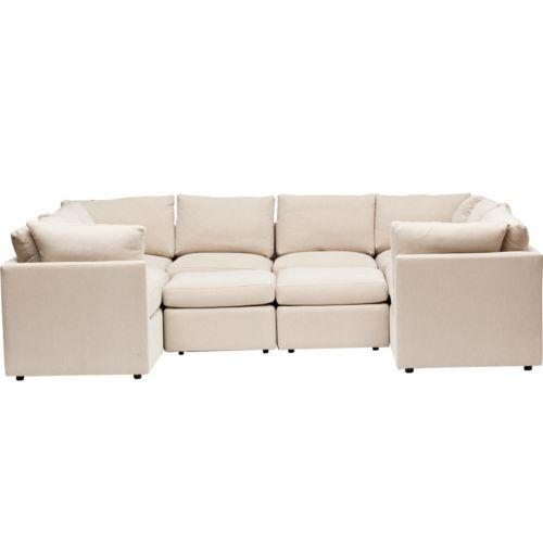 what size rug for living room sectional modern ceiling design in the philippines u shaped beige