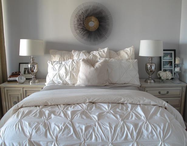 Pintuck Comforter  Contemporary  bedroom  design 59
