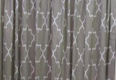 West Elm Ikat Curtains