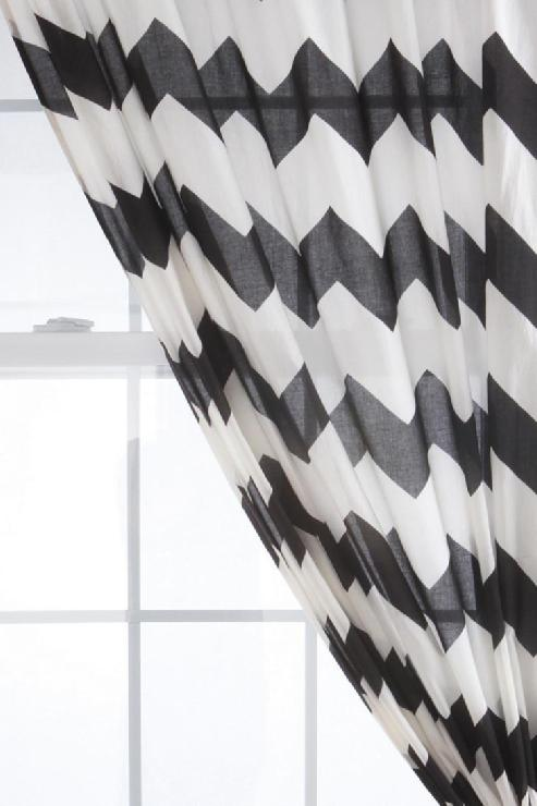 accent chairs gray pattern chair dance urbanoutfitters black white chevron sheer curtain