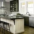 Distressed kitchen cabinets contemporary kitchen atlanta homes