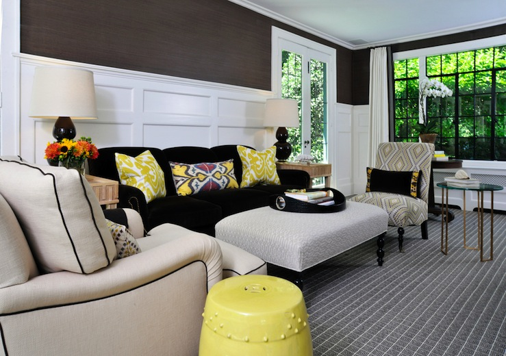Transitional  living room  Muse Interiors