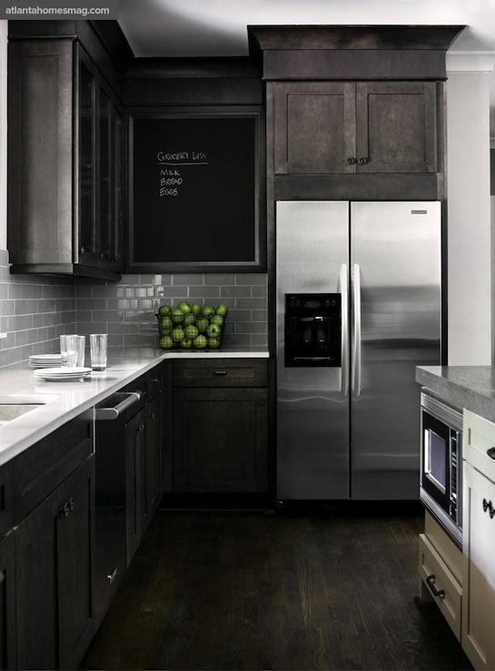 Dark Cabinets Design Ideas