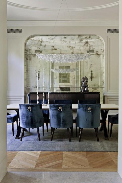 Velvet Dining Chairs Design Ideas