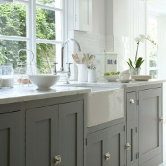 Kitchen Cabinet Latches Lowes Trash Cans Nickel Design Ideas Via Pinterest Stunning With Gray Cabinets Polished Farmhouse Sink Marble Counter Tops Gooseneck Bridge