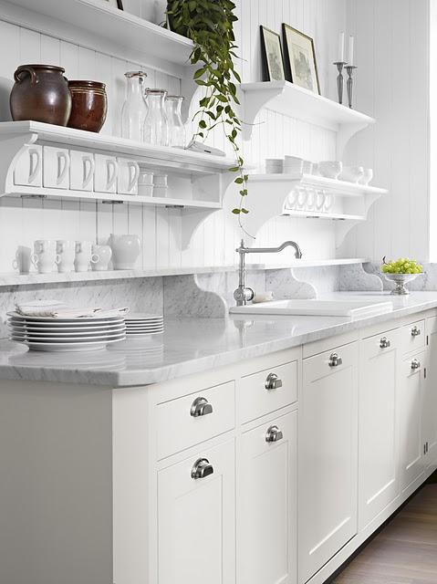 Kitchen Shelving  Cottage  kitchen
