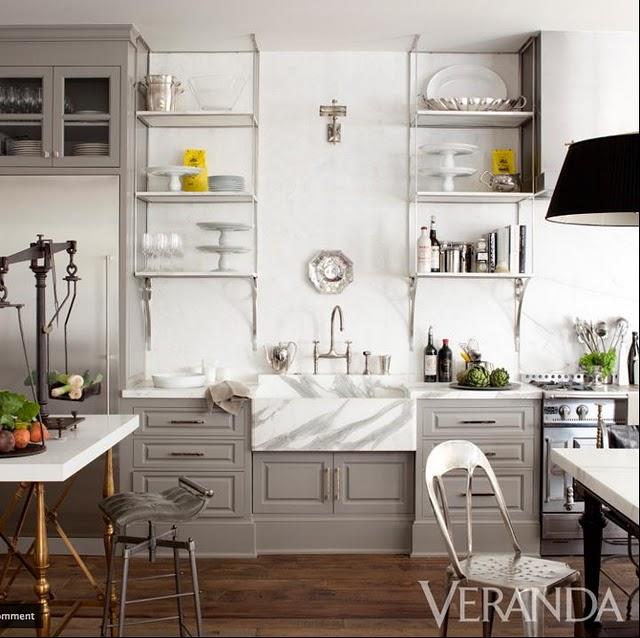 Gray Cabinets Transitional Kitchen Benjamin Moore