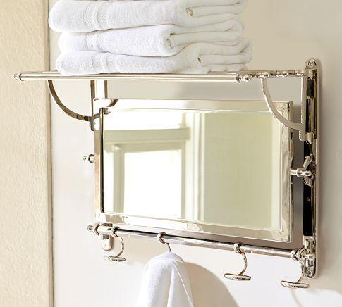 Chrome Bathroom Shelf