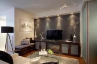 Living Room Media Cabinets Design Ideas