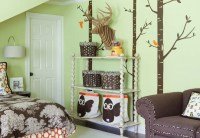 Kids Built In Cabinets - Contemporary - girl's room ...