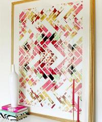 Colorful Abstract Geometric Wall Art
