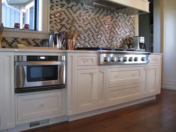 Toe Kick Drawer  Transitional  kitchen  William Adams Design