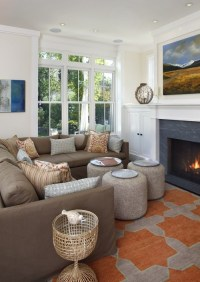 Slipcovered Sectional - Contemporary - living room ...