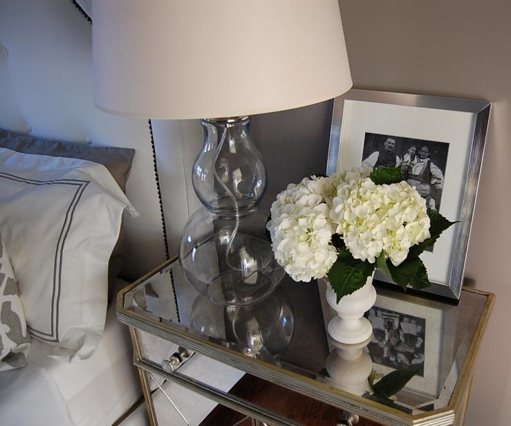 Mirror Nightstand  Contemporary  bedroom  Benjamin