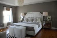 Gray Bedroom - Contemporary - bedroom - Benjamin Moore ...