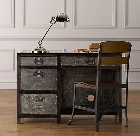 Vintage Locker Desk  Desks  Vanities  Restoration