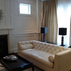 Leather Or Fabric Sofa For Family Room Diy Ana White Ivory Design Ideas