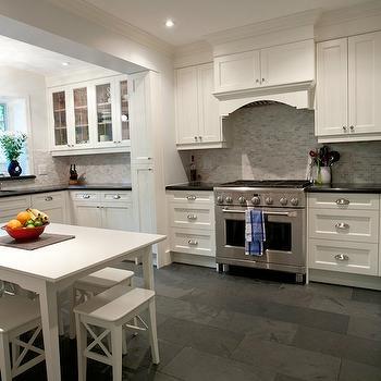 beveled subway tile kitchen cabinet ideas for kitchens white with gray floor tiles - design, decor ...
