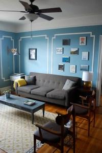 Ikea Rug - Eclectic - living room