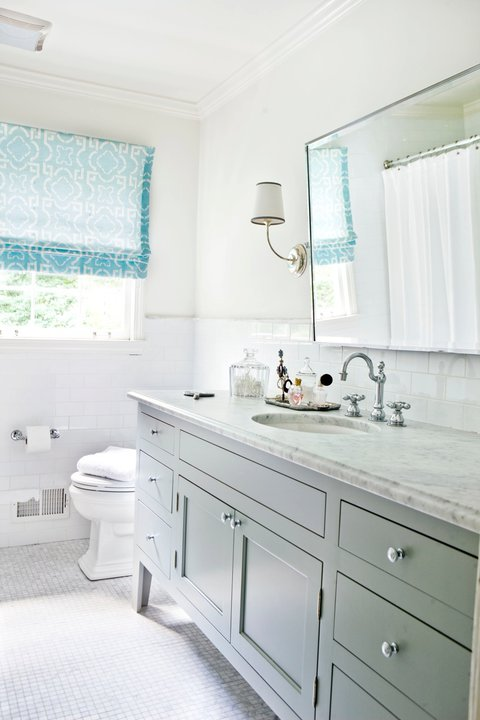 Gray and Blue Bathroom Ideas  Contemporary  bathroom