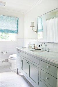 Gray and Blue Bathroom Ideas