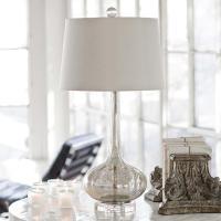 Regina Andrew Milano Antique Mercury Glass Lamp - Regina ...