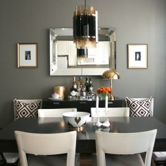 Leather Chairs Target Double Seat Chair Gray Rooms - Contemporary Dining Room Ralph Lauren Mombasa Mist Erika Brechtel