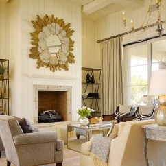 Cream Club Chair Wholesale Restaurant Chairs Mirrored Coffee Table - Contemporary Living Room Benjamin Moore Abalone Cardea Building Co.