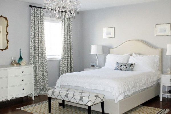 silver blue gray bedroom paint colors Silver Paint Color - Contemporary - bedroom - ICI Dulux