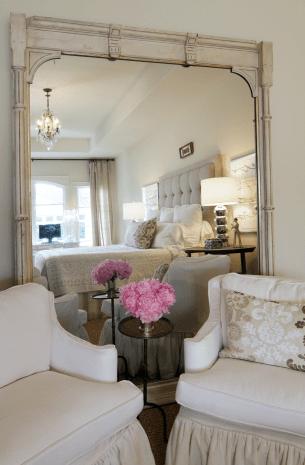 White Washed Mirror Design Ideas