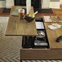 Rustic Storage Coffee Table - west elm