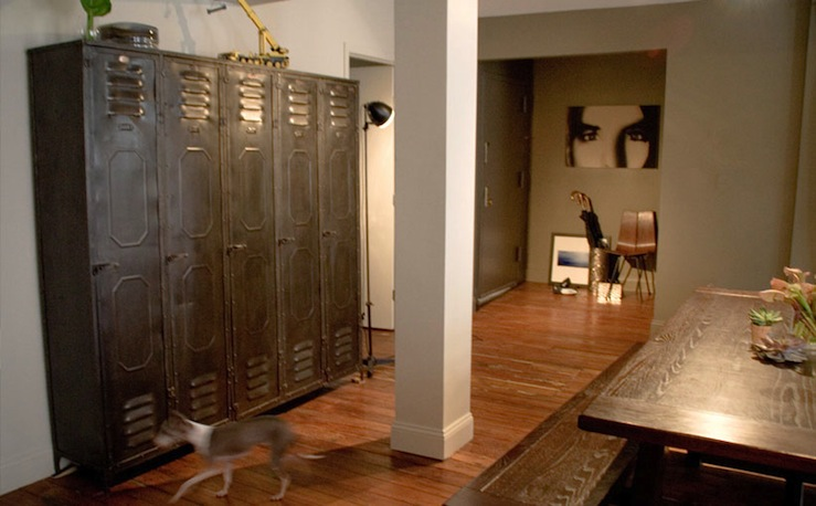 Vintage Lockers  Eclectic  dining room  Curated