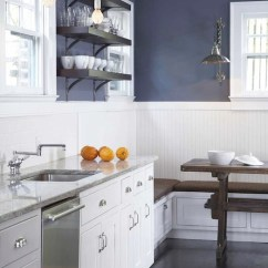 Kitchen Walls Ikea Island Beadboard Contemporary Terracotta Studio
