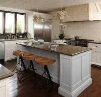 Gray Kitchen Island Design Ideas