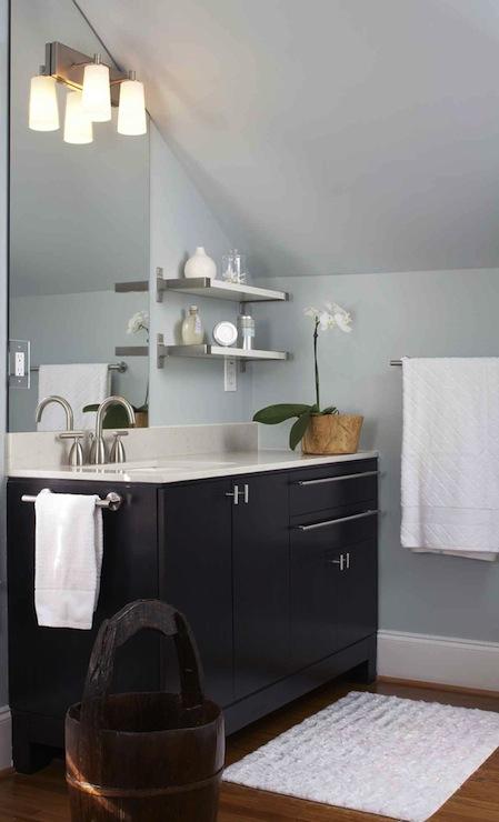 Attic Bathroom  Contemporary  bathroom  Terracotta Studio