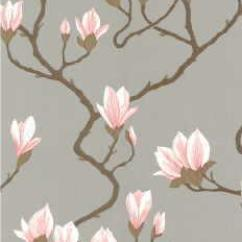 Pillows For Chairs Tiffany Wedding Magnolia - Grey Lustre Indoor Wallcovering Fabric Copia
