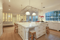 Oversized Kitchen Island - Transitional - kitchen - Cote ...