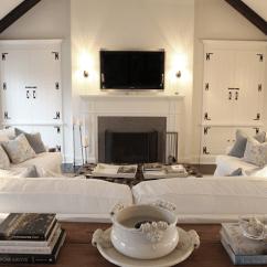 Aidan Gray Sofa Table Bradington Young Sofas Slate Blue Living Room Walls Design Ideas