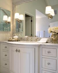 Curved Bathroom Vanity - Traditional - bathroom - Jennifer ...
