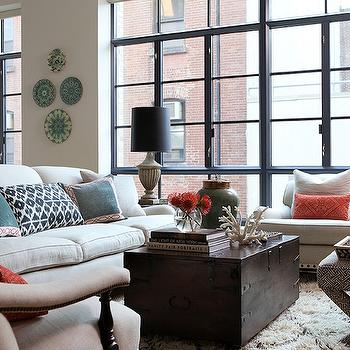 trunk coffee table living room furniture trends metal design ideas view full size chic city with ivory sofa