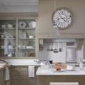 Taupe kitchen cabinets transitional kitchen deulonder