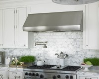 Marble Subway Tile Backsplash Design Ideas