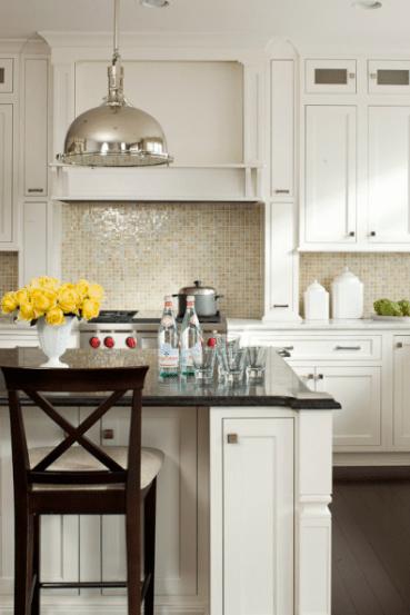 white shaker kitchen cabinets 36 inch cabinet oceanside tile tessera - transitional lauren ...