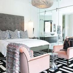 Pink Countertops Kitchen Sink Frame Interior Design Inspiration Photos By Lucinda Loya Interiors.