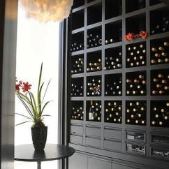Black Furniture Living Room Paint Ideas Rooms With Leather Couch Built In Wine Rack - Design, Decor, Photos, Pictures ...