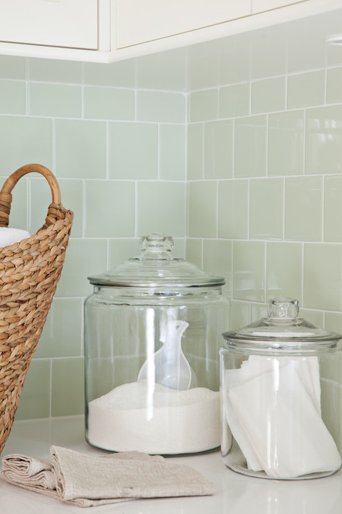 seafoam green backsplash tile design ideas