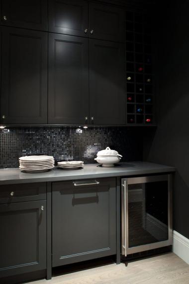 Ebony KItchen Cabinets  Contemporary  kitchen