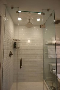 Brick Style Bathroom Tiles - Contemporary - bathroom ...